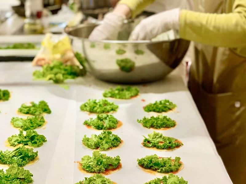 「日本食育防災士」調理風景