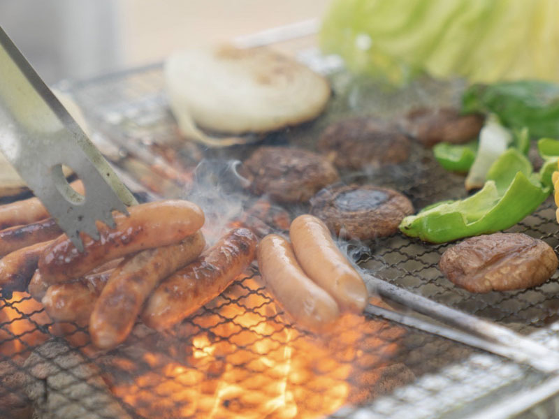 「日本食育防災士」BBQ